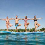 salty water sup yoga